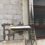 nosna konzola nerezovy komin
