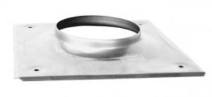 Nerezová komínová krytka, ktorú používame pri vložkovaní komínov.