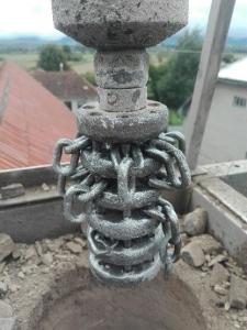 frézovacia hlava na komíne