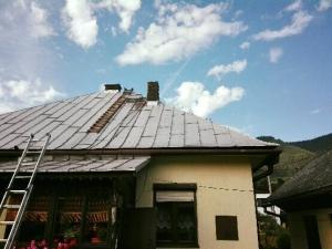 oprava starého komína frézovaním a vložkovaním